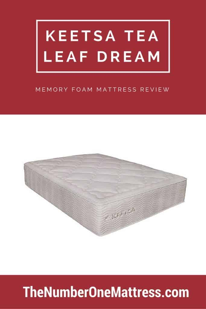 Keetsa Tea Leaf Dream Memory Foam Mattress Review