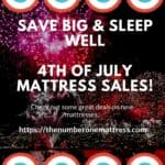4th Of July Mattress Sales – Find The Best Deals This Holiday