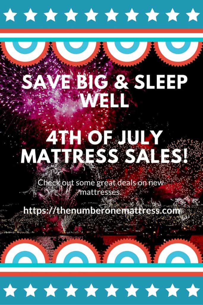 Save Big & sleep well 4th of july mattress sales!