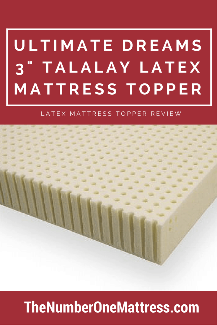 mattress double organic latex by pad textiles topper com certified premium purity version durability talalay amazon covered dp