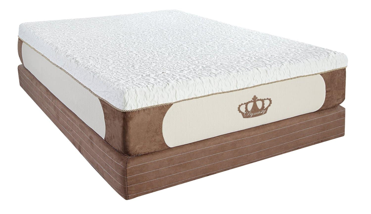 DynastyMattress New Cool Breeze 12 Inch Gel Memory Foam Mattress