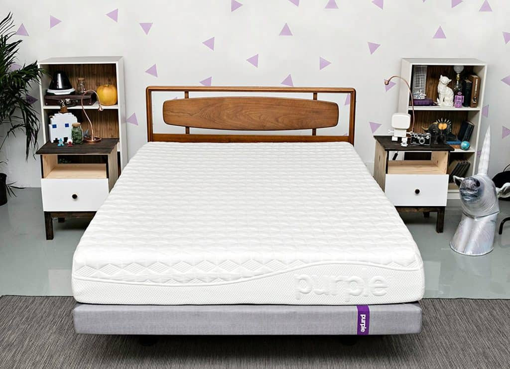 Purple Memory Foam Mattress