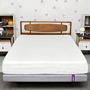 Purle Queen Mattress