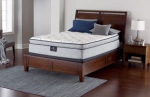 Serta Perfect Sleeper Lockland Super Pillow Top Mattress Hybrid Gel Innerspring